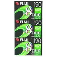 Fuji 3-Pack 120-Minute 8mm Tapes (8MM3PK)