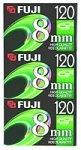 Fuji 3-Pack 120-Minute 8mm Tapes (8MM3PK) by Fujifilm