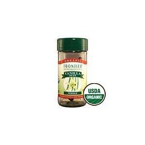 Frontier Herb Organic Whole Vanilla Bean, 1 bean - 6 per case