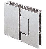 180 Series Chrome Glass (CRL Geneva 180 Series Chrome 180º Glass-To-Glass Standard Hinge)