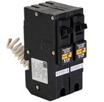 Eaton Cutler Hammer brl215caf 2 Pole 15 Amp Plug on Miniature, Combination Arc Fault Circuit Breaker