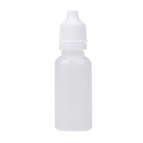 Travel Empty Bottle, Hoshell 25/50/100PCS 15ml Empty Plastic Squeezable Dropper Bottles Eye Liquid Dropper (A_100PCS) by Hoshell_Beauty
