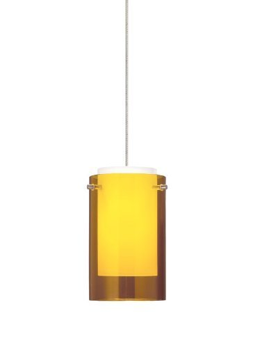 FJ-Mini Echo Pend amber, sn by Tech Lighting
