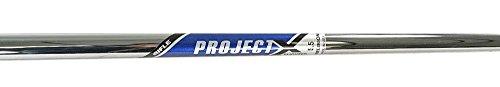 Rifle Shaft Flex - Project X Golf Parallel Tip Flighted #3 Iron Shaft Stiff Flex 6.0 .370