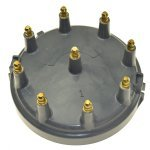 OMC Ignition Distributor Cap 5.8L 1993-1996 8 Cyl. Distr. Ford HEI CDI Part# E64-0009 OEM# OMC 3854217, 987985 / Volvo Penta 3854217