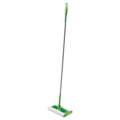 Swiffer Mop, 10 inch Wide Mop, Green, 3/Carton