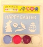 Snazaroo Easter Bunny Face Paint Kit with Stencils