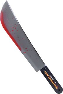 Friday The 13th Jason Voorhees Adult Machete Prop Costume Accessory ()