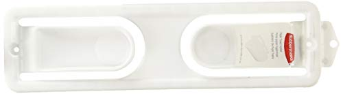 - Rubbermaid 2361-RD-WHT Paper Towel Holder
