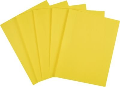 Staples Brights 24 lb. Colored Paper, Yellow, 500/Ream