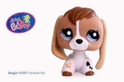 Amazoncom Littlest Pet Shop Rare Dog Beagle 2207 Toys Games