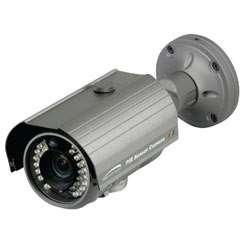 SPECO CVC5100BPVF Weather Resistant Bullet Camera with PIR Sensor & White LEDs, (Weather Resistant Ccd Bullet Camera)