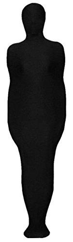 VSVO Unisex Mummy Zentai Spandex Cocoon Zentai (XX-Large, Black) -