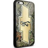 Chevy Logo with a Deer on the Inside for Iphone and Samsung Galaxy (iPhone 6 Plus / 6s Plus black)