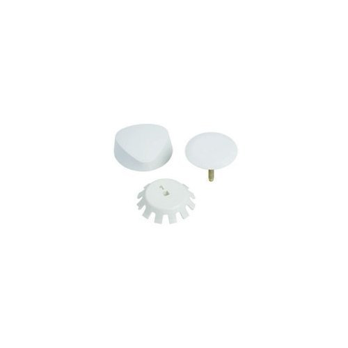 Geberit 151.550.DY.1 Traditional Plastic TurnControl Trim Kit, Off White by Chicago Faucets