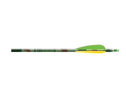 Easton Camo Hunter XX75 Factory 4-Inch Vanes (6-Pack), Multi, 2216