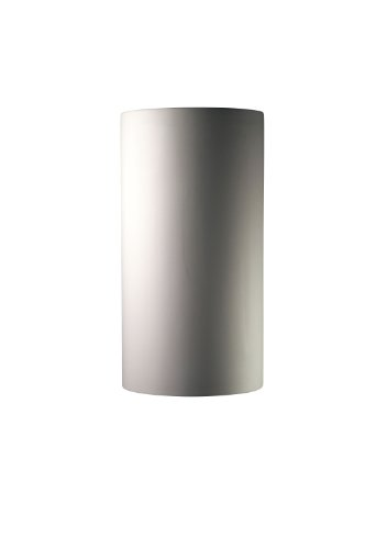 Justice Design Group Ambiance Collection 2-Light Wall Sconce - Bisque Finish
