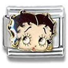CASA D' ORO Betty Boop # 006 Licensed Authentic Italian Charm CHARM Aleegold