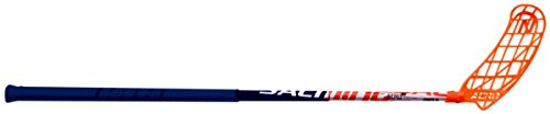 Salming 2019 Aero Z 32 Floorball Stick, Navy/White/Orange, 77 cm, Worn on Right Hand