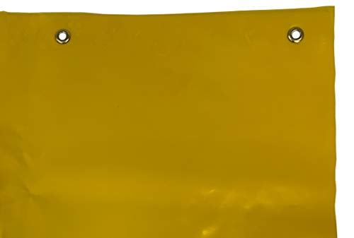 - Yellow Translucent Welding Curtain Flame Retardant 14 MIL - 64 Inch by 25 Yard (75 Foot) Roll