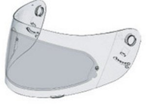 (Shoei Pinlock Fog-Resistant Light Smoke Lens for CX-1V, CX-1 Clear Shields - One Size)