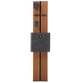 オンリーワン ウェルカムピラー機能門柱 モードAtype 天然木仕様 K11型 KE1-K11OK 【機能門柱 機能ポール】 B00AE25HLQ