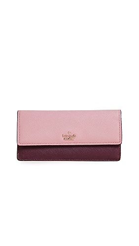 Kate Spade New York Women's Alli Continental Wallet, Dusty Peony Multi, One Size by Kate Spade New York