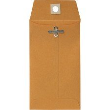 Sparco Heavy-Duty Clasp Envelopes, Kraft Size: 3.5