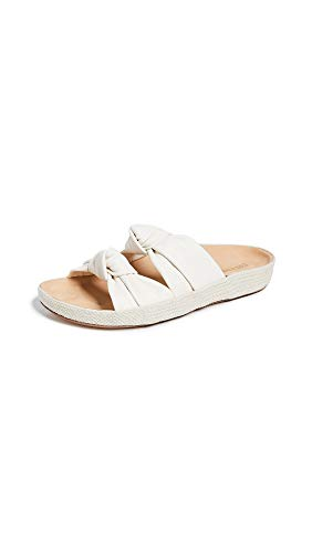 Soludos Women's Knotted Summer Slide Ivory 9 B US ()