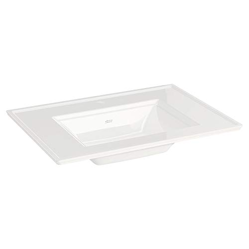 American Standard 0298001.020 Town Square S Vanity Top- Center Hole Only Only, -