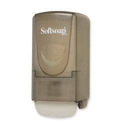 Softsoap  Plastic Liquid Soap Dispenser, 800Ml, 5-1/4W X 3-7/8D X 10H, (800 Ml Soap Dispenser)