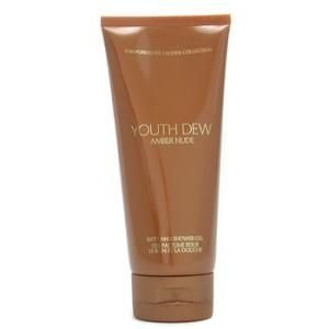 ESTEE LAUDER YOUTH DEW AMBER NUDE BATH AND SHOWER GEL 6.7 FL. (Estee Ginger Perfume)