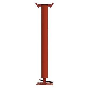 Adjustable Steel Building Column, 3.5'' OD, Schedule 40, 4'' Adjustment Range