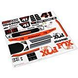 - Traxxas 8515 Fox Edition Unlimited Desert Racer Decals, White