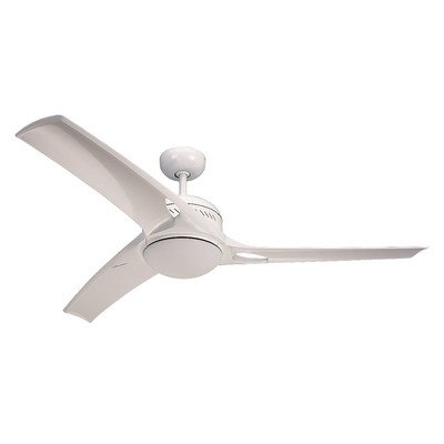Monte Carlo Mach One 52-Inch 3-Blade Ceiling Fan with Remote, Light Kit and ABS Blades