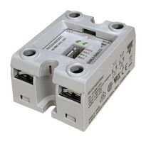 Solid State Relay, 50 A, 660 VAC, Panel, Screw, Zero Crossing