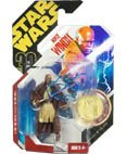 Star Wars Mace Windu Ultimate Galactic Hunt 3 3/4 inch Action Figure with Vac-Metalized Gold Colored Coin