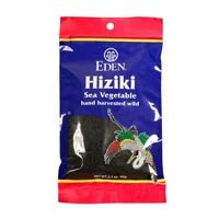Eden Foods Hiziki, Japanese Traditional Sea Vegetable, 2.1-ounce Packs (Case of 6) by Eden