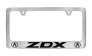 Acura ZDX Chrome License Plate Frame