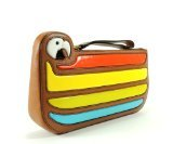 Kate Spade New York Parrot Cay Macaw Clutch (Natural)