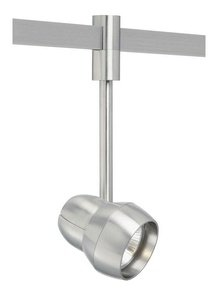 "Tech Lighting T-Trak 700TTOM2003SS PAR20 Single Circuit Head - 3"" Drop - Satin Nickel Finish"