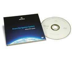 Acura Navigation System, 2015 White DVD Update U3132-0075-409 North America DVD Package