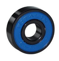 Ritalin Skateboard longboard bearings Abec 5 - Set of 8 pcs - Blue