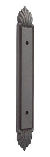 Fiore Cabinet Backplate - Alno A1477-35-BRZ Fiore Traditional Backplates, Bronze
