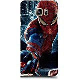 Samsung Galaxy Note 5 Case Cover,Awesome Fashionable 3D Comic Spiderman Phone Case Cover for Samsung Galaxy Note 5 Hot Superhero