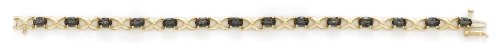"Mystic Topaz 14 carats longueur :  18,4 ""- JewelryWeb"