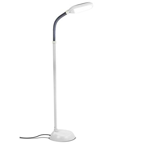 Brightech Litespan LED Bright Reading and Craft Floor Lamp -
