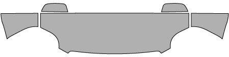 P#: 2014-GMC-YUKON-DENALI--5665 Clear Bra Paint Protection Kit for a GMC YUKON DENALI . This item includes a Pre-Cut kit for: Standard Hood Fender Mirror (3M Scotchgard Film) (Yukon Denali Bug Shield compare prices)