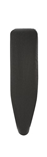Homally Replacement Cover for 53'' Ironing Boards, Standard Width, 6mm Fiber Padding, Metallic Black by Homally