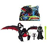 Grimmel & Deathgripper The Hidden World Dragon & Figure How to Train Your Dragon